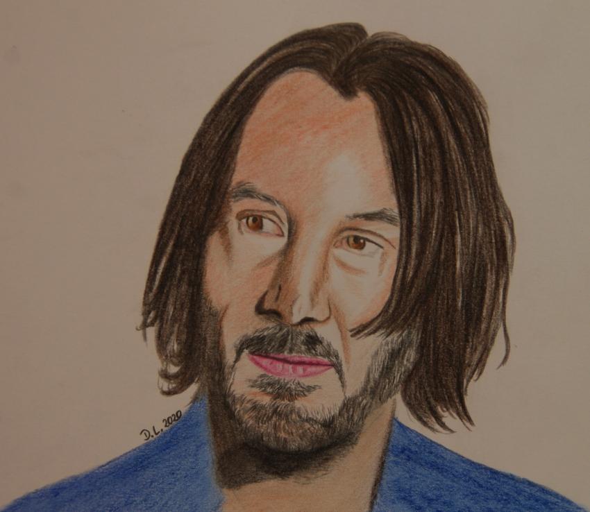 Keanu Reeves by HamburgGirl